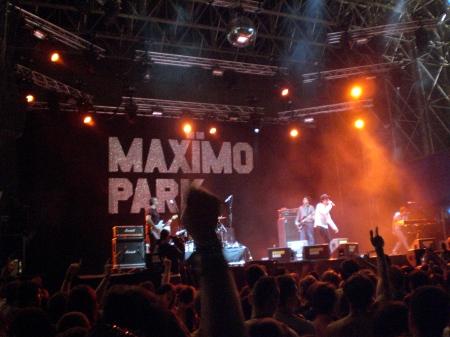 maximo park @ summercase 08 barcelona by xabilo