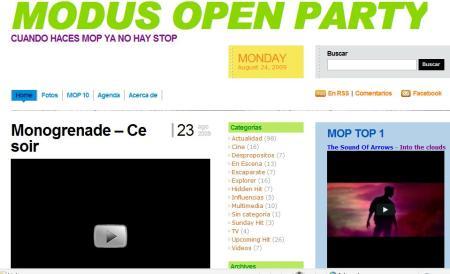 modus open party